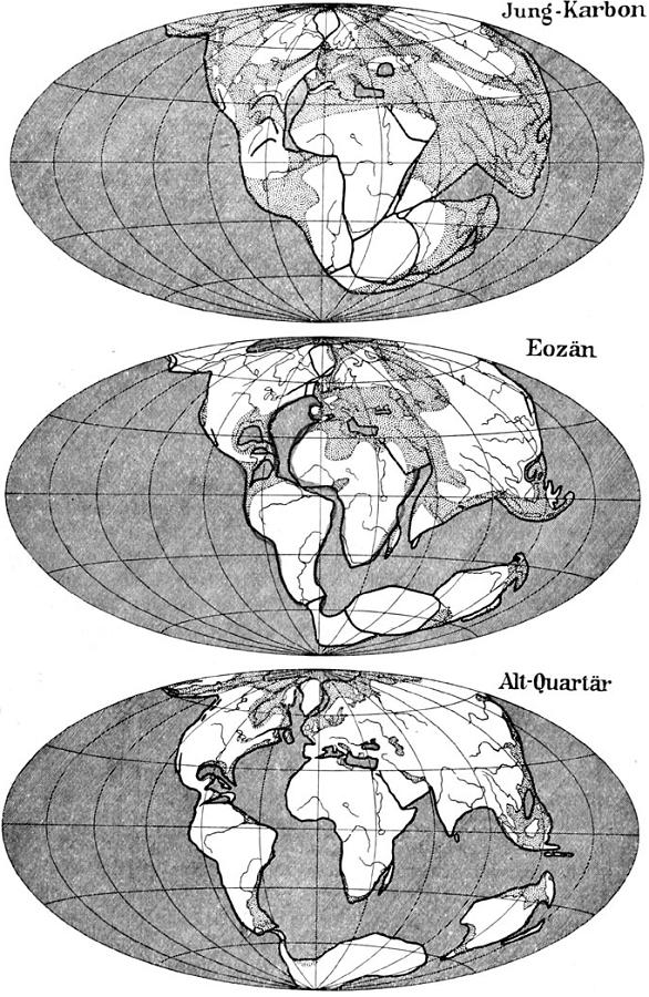 globe view of continental drift