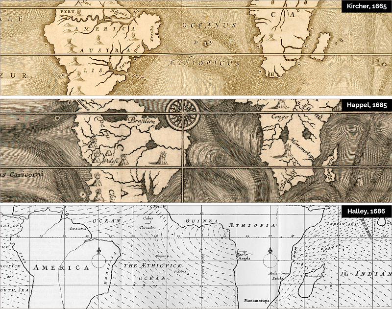 winds and currents maps