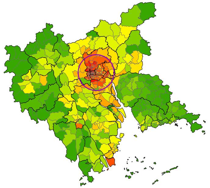 disease cluster SaTScan