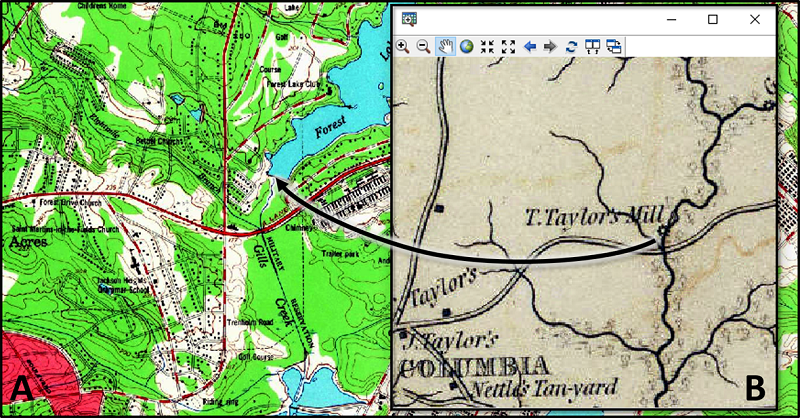 map symbology