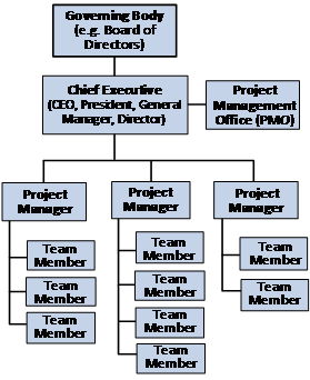 Project Structure for Organizations