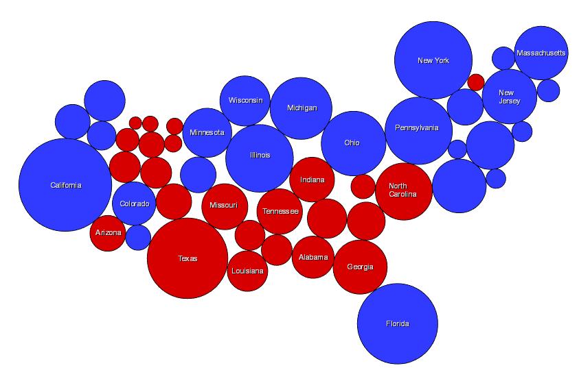 graphic cartogram